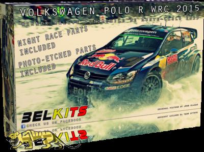Volkswagen Polo R WRC 2015 - Sieger Rally Monte-Carlo 2015 - 1:24