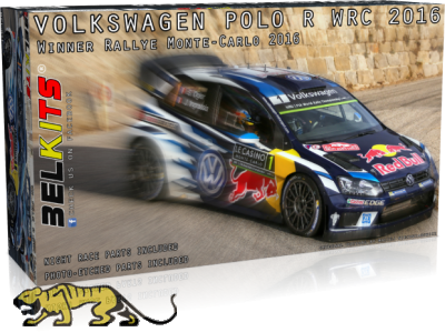 Volkswagen Polo R WRC 2016 - Sieger Rally Monte-Carlo 2016 - 1:24