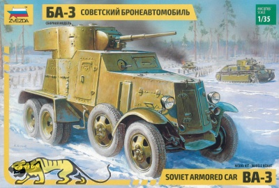 Russischer Panzerspähwagen BA-3 - 1:35