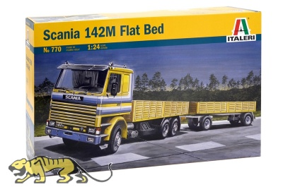 Scania 142M Flat Bed - 1:24