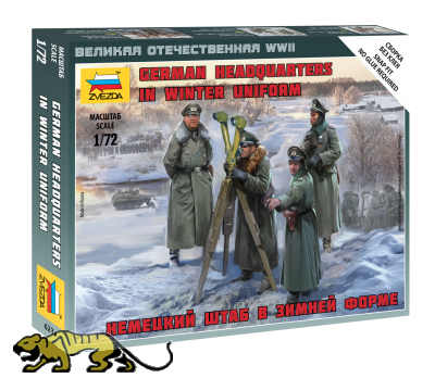 Deutsches Hauptquartier in Winter Uniform - 1:72