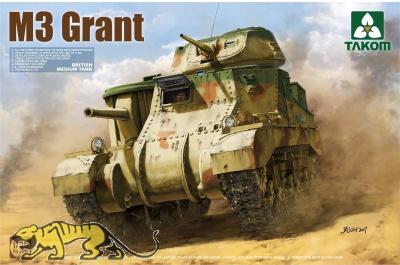 M3 Grant - British Medium Tank