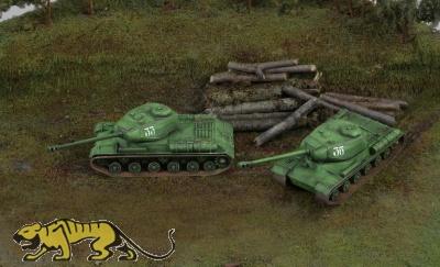 Russischer Kampfpanzer IS-2
