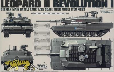 Leopard II Revolution I - German Main Battle Tank - 1:35
