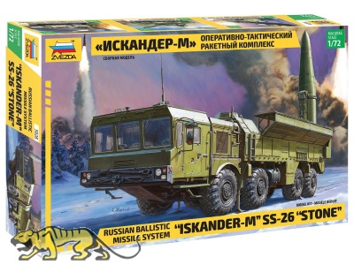 Iskander-M - SS-26 Stone - Russian Ballistic Missile System - 1:72