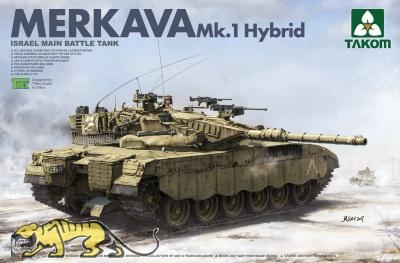 Merkava Mk. 1 Hybrid - Israeli Main Battle Tank - 1:35