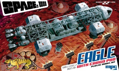 Space 1999 / Mondbasis Alpha 1 - Eagle Transporter with Cargo Pod - 1:48