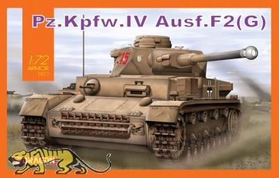 Pz.Kpfw. IV Ausf. F2 (G) - 1:72