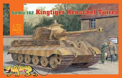 Königstiger mit Henschel Turm - Sd.Kfz. 182 - 1:72