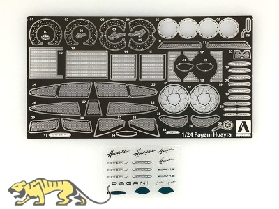 Detail Up Parts Pagani Huayra - Detailset