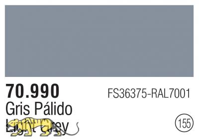 Model Color 155 / 70990 - Light Grey FS36375 RAL7001