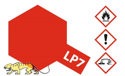 Tamiya LP-7 Pure Red - Gloss - 10ml