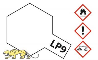 Tamiya LP-9 Klar - Glänzend - 10ml
