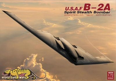 USAF B-2A Spirit - Stealth Bomber - 1:72