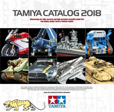 Tamiya Katalog 2018 Deutsch / Englisch / Französisch / Spanisch