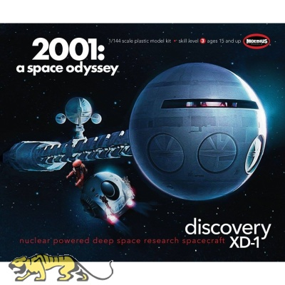 Discovery XD-1 - 2001: a space odyssey / 2001: Odyssee im Weltraum - 1:144