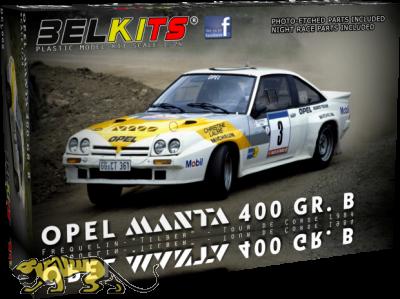 Opel Manta 400 GR. B Fréquelin