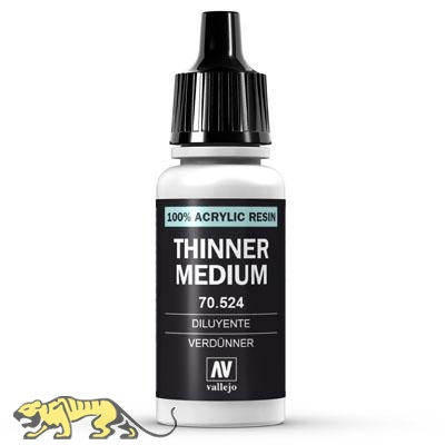 Vallejo Thinner Medium - 17ml