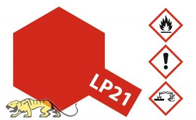 Tamiya LP-21 Italienisch Rot / Italian Red - 10ml