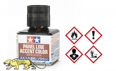 Panel Line Accent Color - Braun / Brown - 40ml
