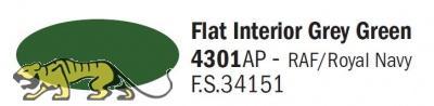 Italeri Acryl 4301AP - Cockpit Grün Matt / Flat Interior Grey Green - FS34151 - 20ml
