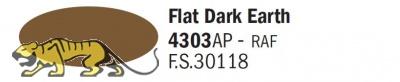 Italeri Acrylic 4303AP - Erde Dunkel Matt / Flat Dark Earth - FS30118 - 20ml
