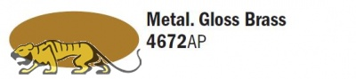 Italeri Acrylic 4672AP - Metal. Gloss Brass - 20ml