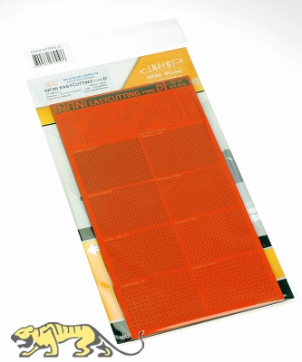 Easycutting Type D - 45° or 60° slants and hexagons - 116 x 215 mm