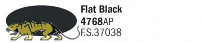 Italeri Acrylic 4768AP - Schwarz matt / Flat Black - FS37038 - 20ml