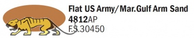 Italeri Acrylic 4812AP - USMC Golf Sandfarben / Flat US Army - Mar.Gulf Arm Sand - FS30450 - 20ml