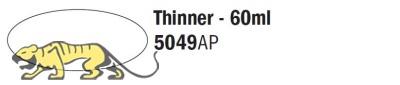 Italeri Acrylic 5049AP - Verdünner / Thinner - 60ml