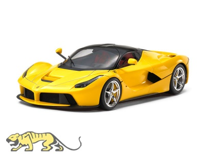 Ferrari La Ferrari - Gelbe Version / Yellow Version - 1:24