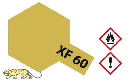 Tamiya XF60 - Dunkelgelb - Matt