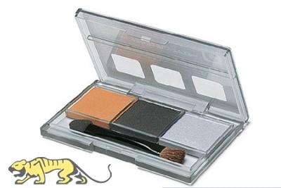 Tamiya Alterungsset C - Oranger Rost, Gun Metal, Silber