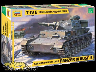 Panzerkampfwagen IV Ausf. E - mittlerer deutscher Panzer - 1:35