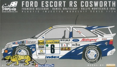 Ford Escort RS Cosworth Rally Montecarlo 1994 - 1:24