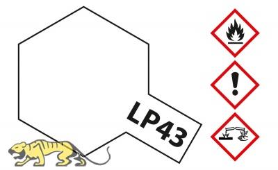 Tamiya LP-43 Perlweiss glänzend / Pearl White - 10ml