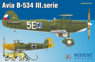 Avia B-534 III. Serie - Weekend Edition - 1:48