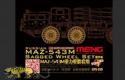 Reifen Set für russischen MAZ-534M - 1:35