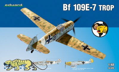 Messerschmitt Bf 109 E-7 Trop - Weekend Edition - 1:48