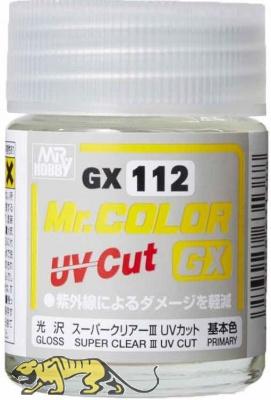 Mr. Hobby Mr. Color GX112 Super Clear III UV Cut - Clear Coat Gloss - 18ml