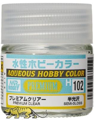 Mr. Hobby Color H102 Premium Clear - Semi-Gloss - 10ml