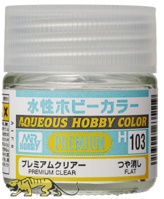 Mr. Hobby Color H103 Premium Clear - Flat / Matt - 10ml