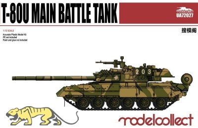 T-80U - Main Battle Tank - 1:72