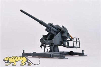 128mm Flak 40 mit Bettung 40 - 1942 - Fertigmodell - 1:72