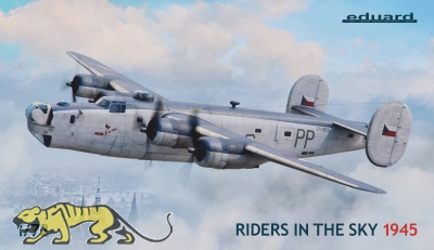 Riders in the Sky - 1945 - B-24 Liberator / Liberator Gr. Mk. VI / Mk. VIII - Limited Edition - 1:72