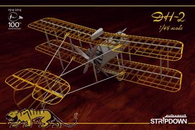 DH-2 - Stripdown - 1:48