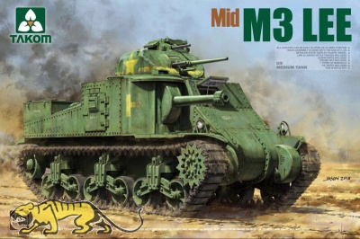 M3 Lee - US Medium Tank - Mid Version - 1:35