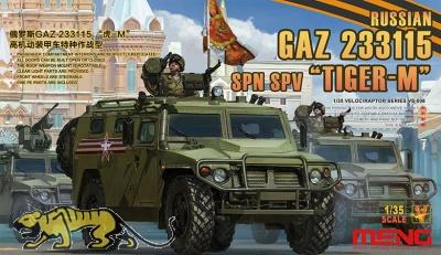 Tiger M - Russian GAZ 233115 - SPN SPV - 1:35