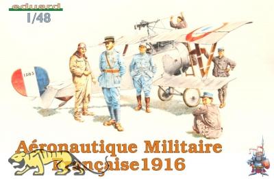 Aeronautique Militaire Francaise 1916 - 6 Figuren - 1:48